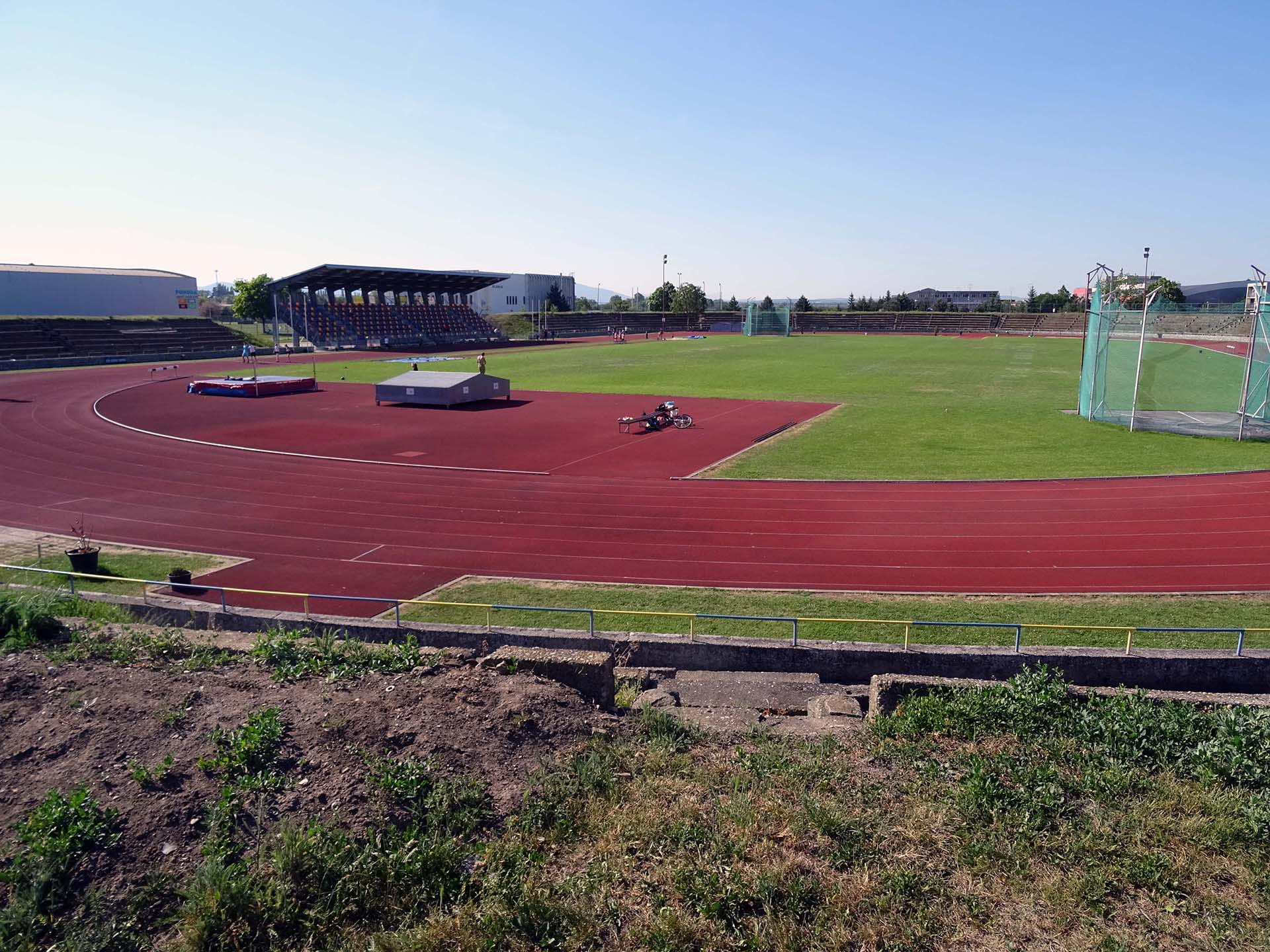 Oplotenie športového areálu Slávia Trnava