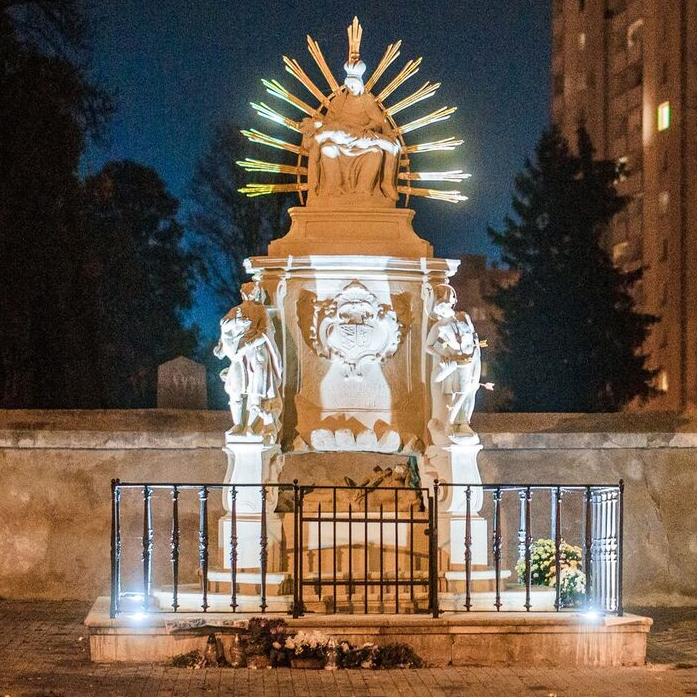 Nové iluminačné osvetlenie Piety