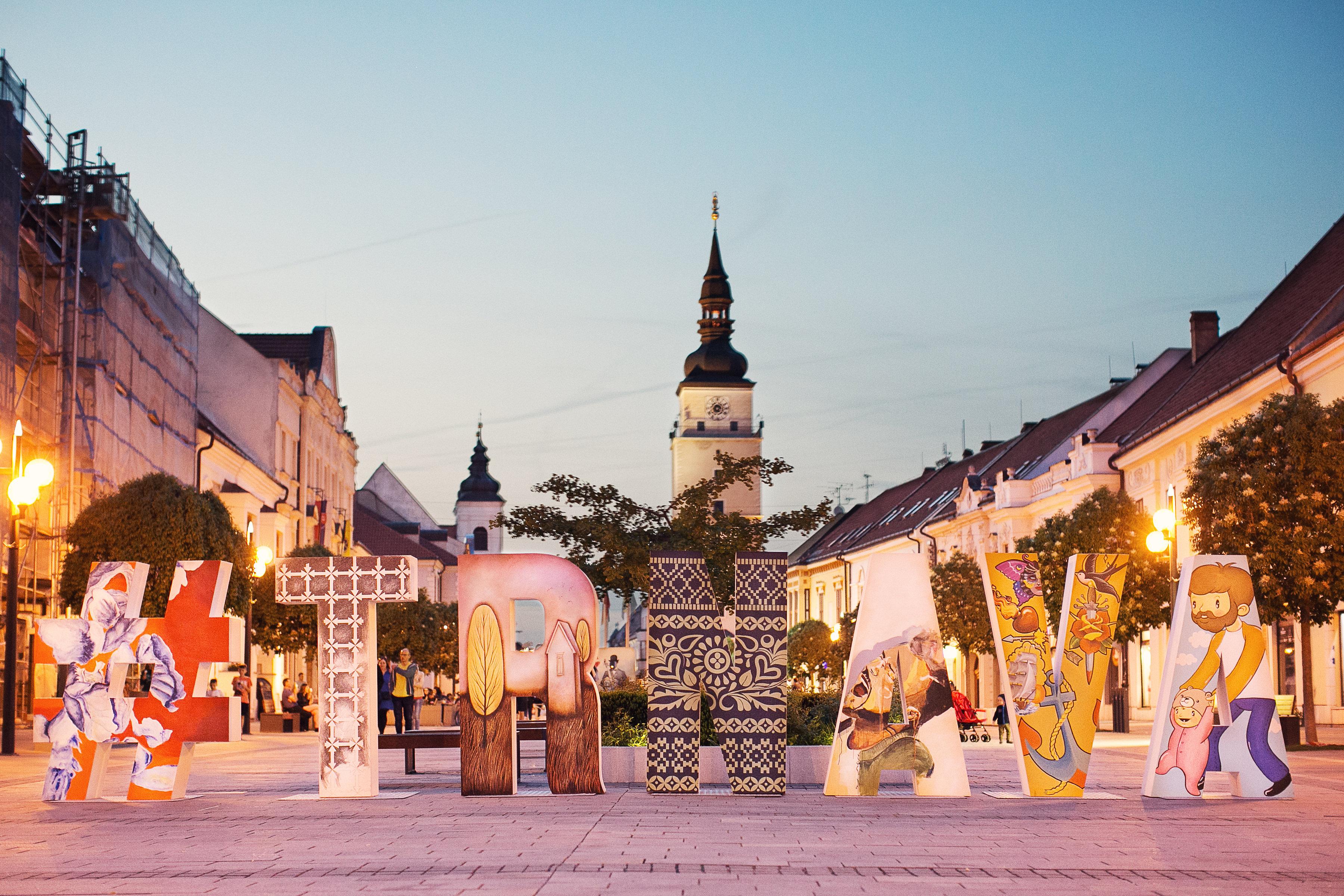 Kandidatúra mesta Trnava na Európske hlavné mesto kultúry 2026 – grafické práce